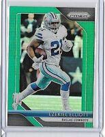 2018 Prizm EZEKIEL ELLIOT GREEN Prizm Card #146 Dallas Cowboys SP Retail