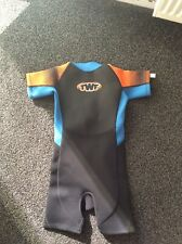 New listing TWF (SOLD BY TESCO) BOYS SHORTIE WETSUIT, Age 7 - Black