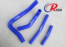 For Suzuki RM250 RM 250 1996-2000 Silicone Radiator Coolant Hose Blue 99 00