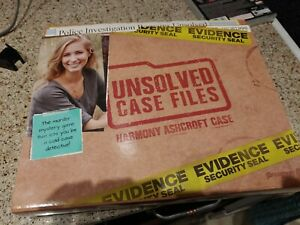 Pressman Unsolved Case Files: Harmony Ashcroft Game Mystery Detective Party Game
