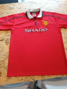 Manchester United Shirt, Score Draw, 1999, size xl
