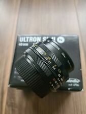 Voigtlander ULTRON Aspherical 40mm f/2 SL II for Nikon JAPAN 112 Boxed. MINT