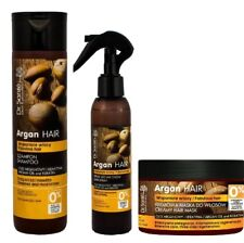 Hair Shampoo Mask and Spray Rebulding Damaged Hair Argan Oil Keratin Dr Sante