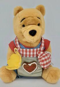 "Winnie the Pooh Happy Mothers Day cake Disney Plush Bear 10"" Stuffed Animal"