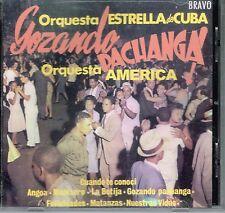 Gozando Pachanga Orq. Estrellas de Cuba Orq. America   BRAND  NEW SEALED  CD