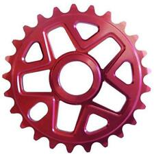 SC 28 Tooth Red Alloy Single BMX Chainwheel