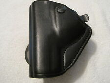 Bianchi Carrylok Holster Model 83 Auto Retention Black Left-Hand Glock #23227