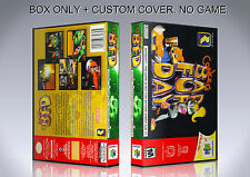 CONKER'S BAD FUR DAY. NTSC. Box/Case. Nintendo 64. BOX + COVER. (NO GAME).