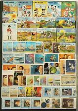 Grenada Lot of Over 175 Cancelled Stamps #7108