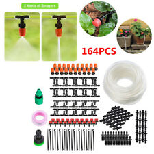 164 Pcs Micro Drip Irrigation Automatic Timer Plant Watering Garden Hose System
