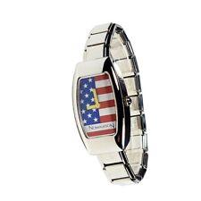 Orologio Nomination Unisex in acciaio con Bandiera Stati Uniti Swiss Made