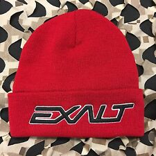 New Exalt Bold Paintball Beanie - Red