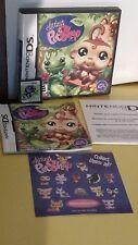 Littlest Pet Shop: Jungle Nintendo DS, 2008 Game, Case, & Manual Included