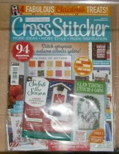 Cross Stitcher magazine #376 Nov '21 94 Seasonal designs  + Luxury Christmas kit
