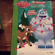 Rudolph the Red Nosed Reindeer  Bumble Christmas Jumbo Coloring &Activity Book
