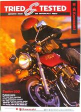 KAWASAKI Zephyr ZR550 B1/B2 - Motorcycle Road Test Reprints - 1990 -#9985-123-12