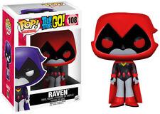 "POP! VINYL ~ Teen Titans Go! - Raven (Red) 3.75"" Vinyl Figure (Funko) #NEW"