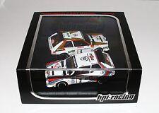 HPI Racing 8052 1/43 Lancia Delta S4 Set Rallye San remo 1986 Alen Cerrato RARE
