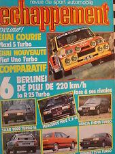 ECHAPPEMENT 1985 CITROEN CX GTI TURBO / RENAULT 5 TURBO MAXI + R 25 V6 TURBO