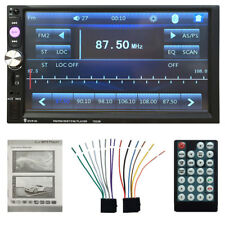"""On Sale 7"""" HD Bluetooth Car Stereo MP3 Player FM Radio Touch Screen Aux-in Nice"""
