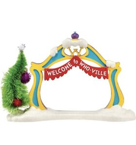 Department 56 Grinch Village Archway Accessory Figurine