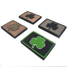 4 Pcs Ireland Subdued Irish Tactical Patch Army Morale Badges Embroidery Patches