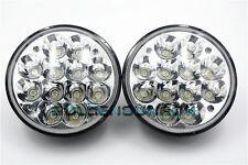 "2x 5-3/4"" H5001/H5006 LED Headlights Conversion Spot Flood Beam Light 36W 5.75"""