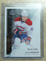 13-14 UD SPA SP Authentic Future Watch #210 NATHAN BEAULIEU /1299