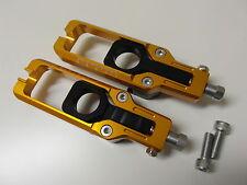 Ajustador de cadena tensor cadena Kawasaki ZX10R 11 12 13 14 15XP dorado NUEVO