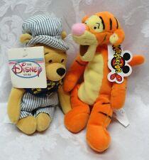 Winnie the Pooh Tigger Choo Choo Honeybee Conductor Uniform w TAGS Bean Bags