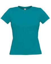 Camisas y tops de mujer de color principal azul 100% algodón talla S