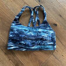 Lululemon Sports Bra Size 2 Blue