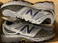 New Balance Mens 510 v4 Grey Trail Wide Running Shoes Size 9.5 4E WIDE WIDTH