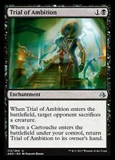 Trial of Ambition NM X4 Amonkhet Black Uncommon MTG