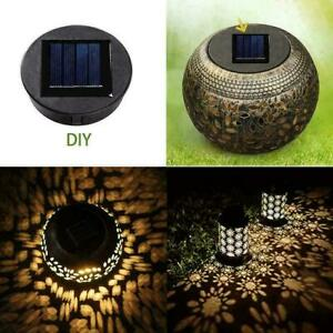 Smart Garden Solar Powered Replacement Round LED Light to Z0Q Box H Fit O2V3