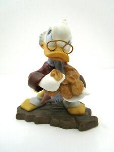 "WDCC Disney Bah-Humbug! Mickey's Christmas Carol Scrooge McDuck Ornament 4"""