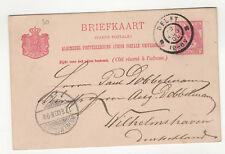 Pays-Bas entier postal sur carte postale 1900 tampon Delft  /L356