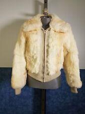 Women's Dyed Rabbit Fur Jacket