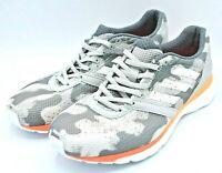 Adidas Adizero Adios 4 Boost Running Shoes Camo Grey Womens Size 10.5 EF1457 NEW