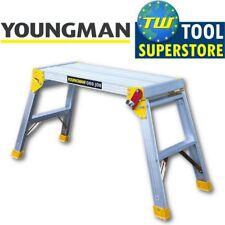 Youngman Odd Job Folding Platform Bench Hop Step Up Decorators Plasterers DIY