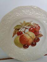 "Mason's Ironstone Salad Plates Fruit Salad Design 8"" (3 plates - 3 designs)"