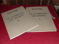 HENRI CRESPI LE LUBERON Complet Signé 2/2 20 DESSINS Ca 1970 + Aix en P. (1953)
