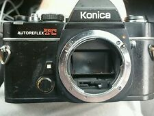Konica AutoReflex TC 35mm Camera Body AR Mount - Shutter works