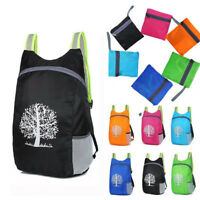 Durable Folding Packable Lightweight Travel Hiking Backpack Daypack Outdoor