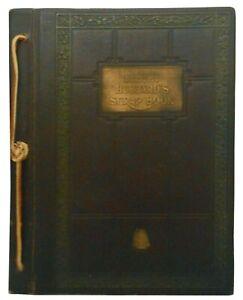 ELBERT HUBBARD'S SCRAP BOOK 1923 W/PHOTOS ARTS & CRAFTS ERA ROYCROFT DIST NY