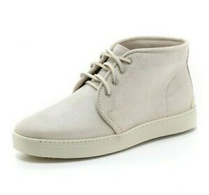Rag & Bone $325 White Kent Desert Sneakers Lace-up Boots Size 39/9 Suede