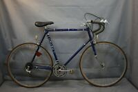 1982 Chimo Concourse Vintage Touring Road Bike X-Large 63cm Blue Steel Charity!!