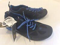 Body Glove Mens Black & Blue Ultralite Beachrunner Water Shoes Size 10 Brand New