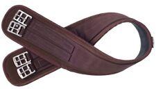"Tough-1 Dark Brown Neoprene English Girth 50"" Horse Tack 21-9990"
