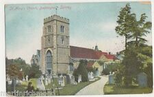 Beddington, St. Mary's Church, 1905 Canon Series Postcard, B514